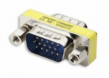 Gender Changer HD15 15 pin SVGA VGA Male to Male