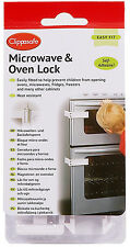 Clippasafe MICROWAVE/OVEN LOCK/Latch Kitchen Child/Baby/Kids Safety Proofing BN