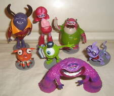 DISNEY MONSTERS UNIVERSITY INC. PVC FIGURES CAKE TOPPERS LOT MIKE RANDALL DON ++