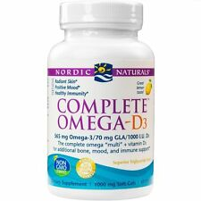 Nordic Naturals - Complete Omega-D3, Additional Bone, Mood, and Immune Support,