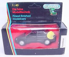 Schabak Germany 1:43 FORD ESCORT ORION Detailed Model Car #1092 #2 MIB`92 RARE!