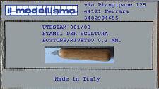 CORTE DI CAVANNO UTESTAM01/003 Bottone rivetto 0,3 mm.