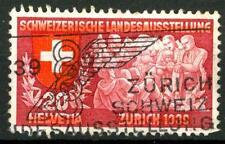 SWITZERLAND - SVIZZERA - 1939 - Esposizione naz. a Zurigo - 20 c. (in francese)
