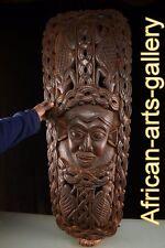 55365  Mega große Helmmaske der Bamun Kamerun / Cammeron  Afrika