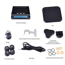 LCD Monitoring Intelligent System Wireless 4 External Sensor TPMS Tyre Pressure