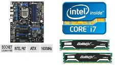 INTEL I7 2700K QUAD CORE X4 CPU P67 MOTHERBOARD 8GB DDR3 MEMORY RAM COMBO KIT