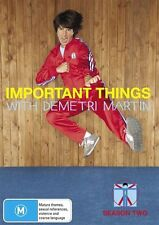 Important Things - With Demetri Martin : Season 2 (DVD, 2011)