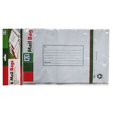 Large Mailing Envelope Bags - Pack of 6 - Peel and Seal - Size 320mm x 240mm
