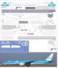 1/144 Boeing 777-300 PAS-DECALS Rus-Air Zvezda KLM 95 years