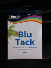 Bostik  Original Blu Tack WHITE repositionable adhesive handy pack 60g