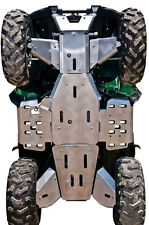 YAMAHA GRIZZLY 700-10-PIECE COMPLETE ALUMINUM SKID PLATE SET,2007-2013
