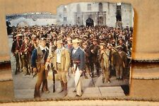 "John Wayne's ""The Alamo, Defenders"" Color Movie Tabletop Display Standee 9"" Long"