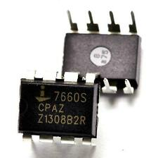 10pcs ICL7660CPAZ ICL7660 Voltage Regulator DC/DC INV -1.5V TO -12V DIP-8
