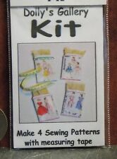 Dollhouse Miniature Sewing Patterns Set Kit   1:12 One Inch Scale H73