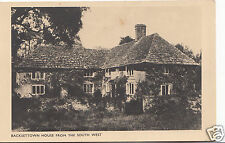 Sussex Postcard - Backsettown House From The South West   A5421