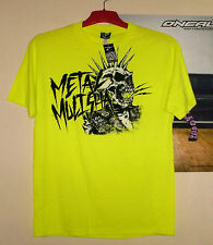Metal Mulisha Day punk t-shirt Cross nuevo Kawasaki Neon Skull freestyle DH quad L
