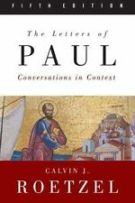 The Letters of Paul, Fifth Edition: Conversations in Context, Roetzel, Calvin J.
