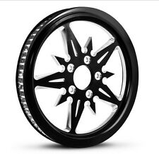 """DNA """"THREAT"""" CONTRAST CUT REAR PULLEY 70T 1-1/2"""" HARLEY TOURING FLHT/R/X/FLTR"""