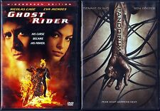 Ghost Rider (DVD, 2007, Widescreen) & Pandorum (DVD, 2009, Widescreen)