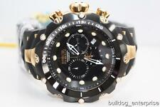 Men Invicta Reserve Venom Generation II 2 Black Gold Chronograph Swiss Watch New