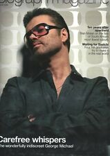 GEORGE MICHAEL interview ROBERT CARLYLE YVES SAINT  LAURANT UKmag 1DAY ISSUE