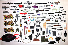 Large Random Military 1980's Accessory Lot For Customs/Completion of Figures!!!