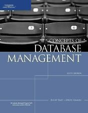 Concepts of Database Management, Sixth Edition