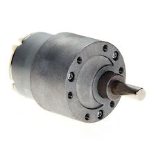 12V DC 60RPM 37mm Powerful High Torque Gear Box Motor Speed Reduction Toy