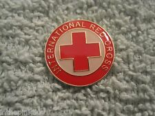 International Red Cross Enamel Pin Red Cross Mint
