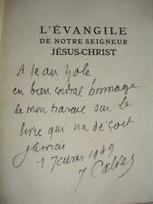 L'ÉVANGILE DE NOTRE SEIGNEUR JÉSUS-CHRIST  Mgr J.Calvet  avec envoi