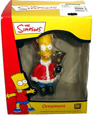 Simpsons Bart With Bell Santa Suit Holiday Christmas Ornament  MIB Unused 2001
