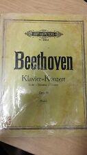 Beethoven: CONCERTO per pianoforte: IN SOL MAGGIORE: musica SCORE (n6)