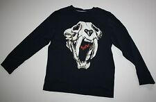 NEW Gymboree Arctic Explorer Saber Tooth Tiger Fossil Tee Shirt Size 7 Year NWT