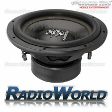 "Ground Zero Radioactive GZRW12D2 12"" Sub Subwoofer Bass Car Audio 1600W 2Ohm D"