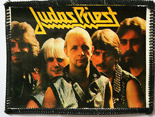 JUDAS PRIEST Original Vintage 1980`s Sew On Photo Card Patch not tour shirt lp