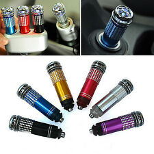 CHIC Mini Auto Fresh Air Ionic Purifier Oxygen Bar Ozone Ionizer Cleaner For Car