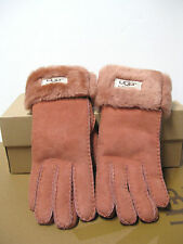 Ugg Ultra Long Turn Cuff Mink Women Gloves US Size S