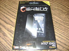 Zagg invisible shield screen protector HTC Evo 4G (new)