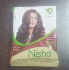 3 X Indian Henna Hina Based Brown Hair Color with Herbal Protection ~No Ppd