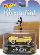 1/64 Hot Wheels Retro Karate Kid '48 Ford Super De Luxe
