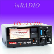 INRADIO IN-400 SWR & POWER METER VHF UHF 140-525 MHz + WORLDWIDE DELIVERY IN400