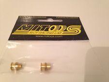 Mitoos M185 OTTONE CUSCINETTO CON DOPPIO LABBRO con distanziatore x 2 Nuovo