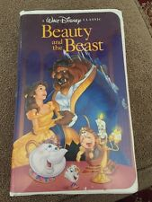 Classic Children Disney movie Beauty and the Beast (VHS, 1992) Disney Princess