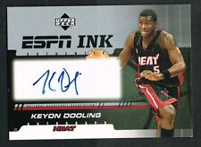 Keyon Dooling 2005 Upper Deck ESPN Ink signed autograph auto Basketball Card