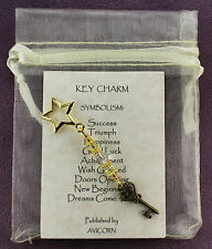 KEY CHARM Amulet Talisman Success Stellar Magick Symbol Sign Spells Pagan