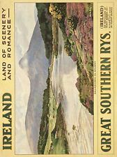 ART PRINT POSTER ADVERT TRAVEL IRELAND LANDSCAPE SCENERY ROMANCE NOFL0913
