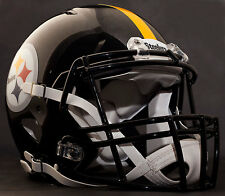 PITTSBURGH STEELERS NFL Authentic GAMEDAY Football Helmet w/ S2BD-SP Facemask