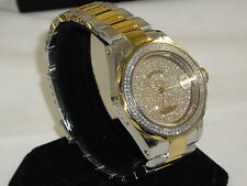 Invicta Men's L.E COSC Swiss Made automatic  Diamond pave dial bezel & crown