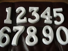 Polystyrene Shape Numbers 0 to 9 (100mm High) - Pk of 10
