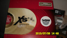 Sabian XS20 Performance Set Brilliant Finish XS5005B-NB New!!!
